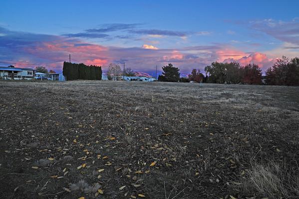 Fort Walla Walla Trail East (in the dark), 11-2-15